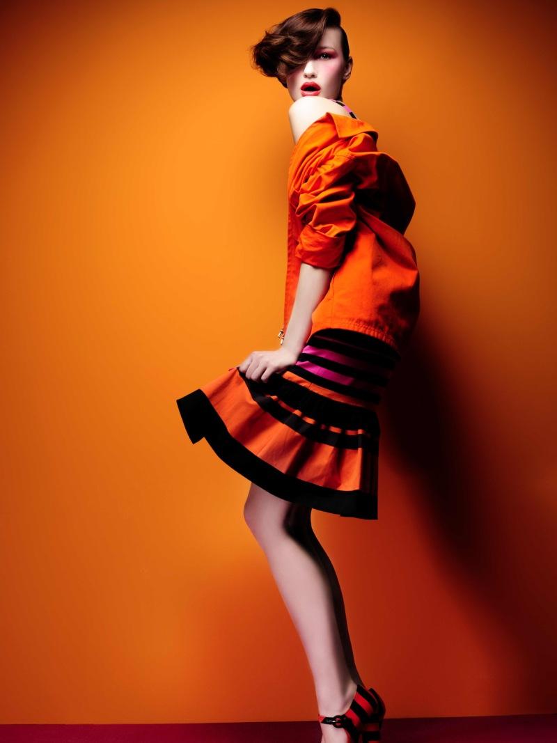 Moda Laranja - Revista Máxima